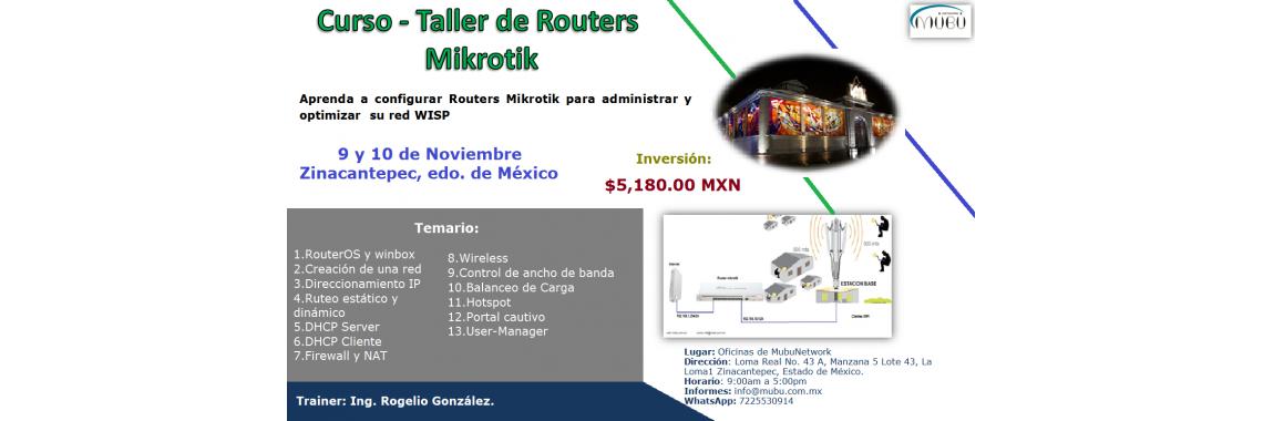 Curso de Routers Mikrotik