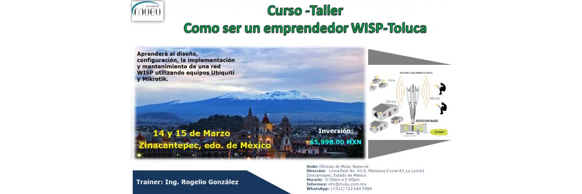 Curso Como ser un emprendedor WISP- Toluca