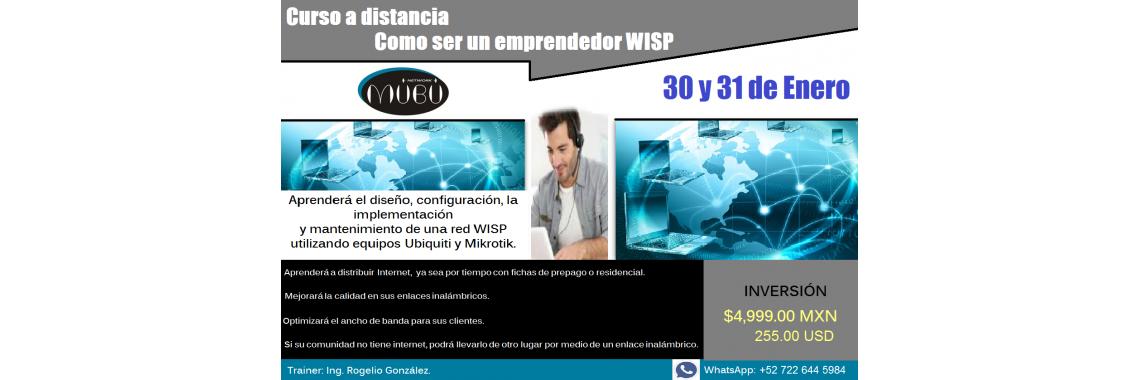 Curso a distancia Como ser un emprendedor WISP