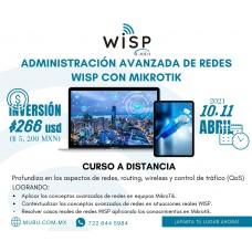 Curso a distancia de Administración Avanzada de Redes WISP con Mikrotik