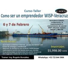 """Curso -Taller: """"Como ser un emprendedor WISP-Veracruz"""""""