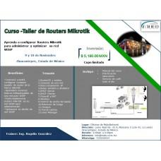 Curso-Taller de Routers Mikrotik